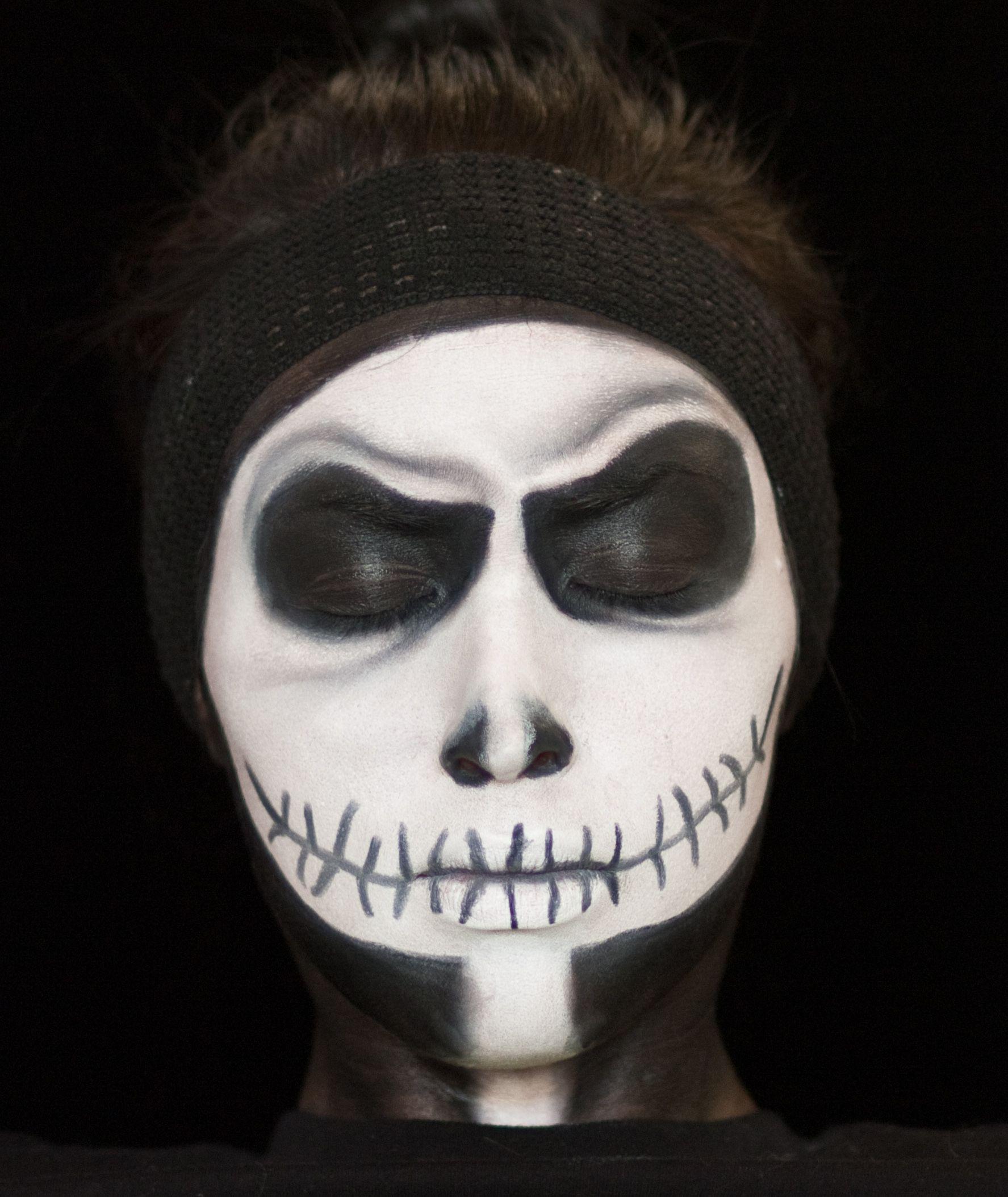 Jack Skellington Beauty Face Painting