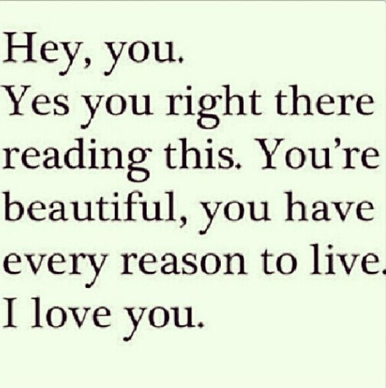 Youre beautiful.  Quote This  Pinterest
