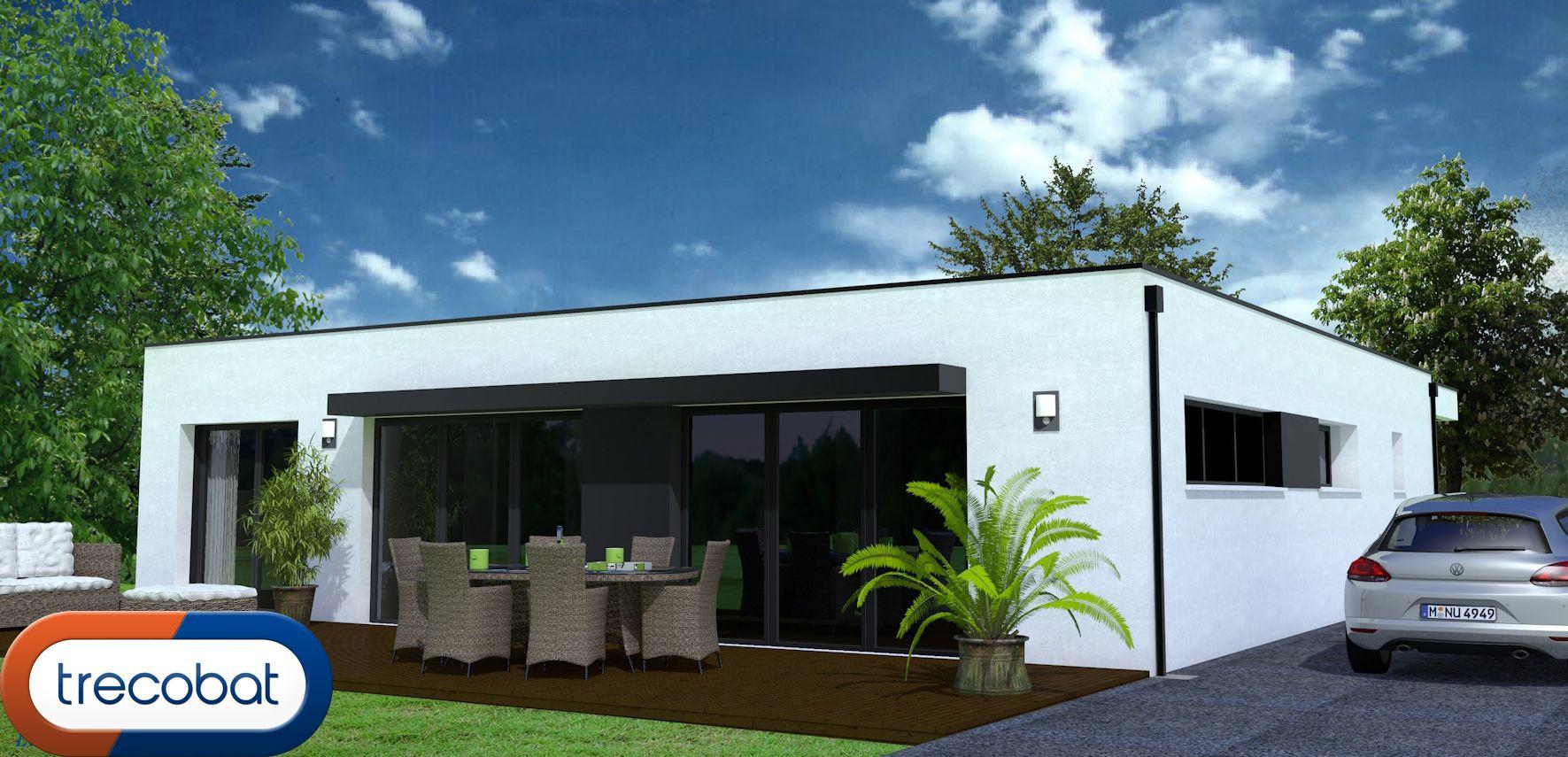 pin by maisons trecobat on avants projets maisons trecobat pinterest. Black Bedroom Furniture Sets. Home Design Ideas