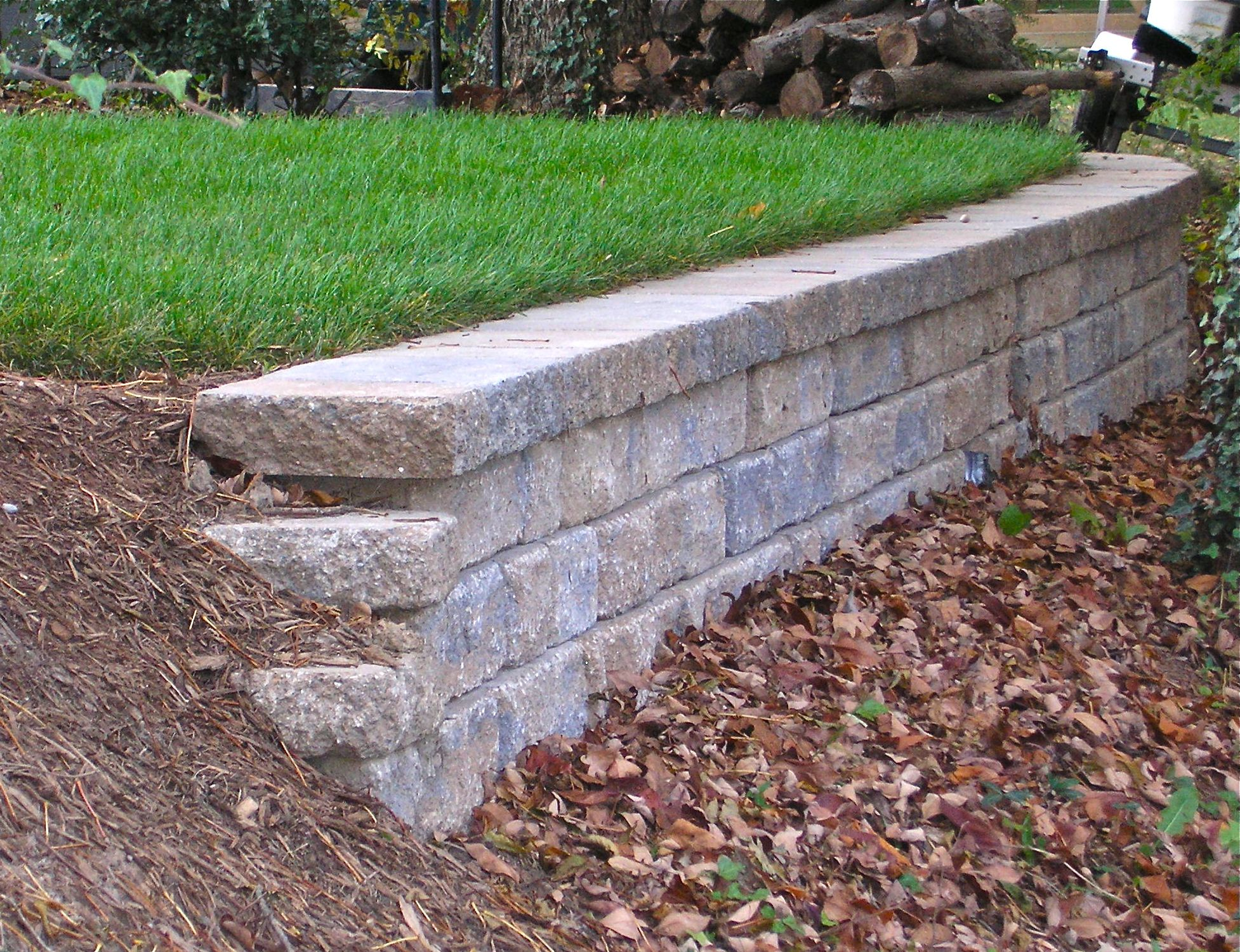 Retaining Wall Block With Pins : Retaining walls
