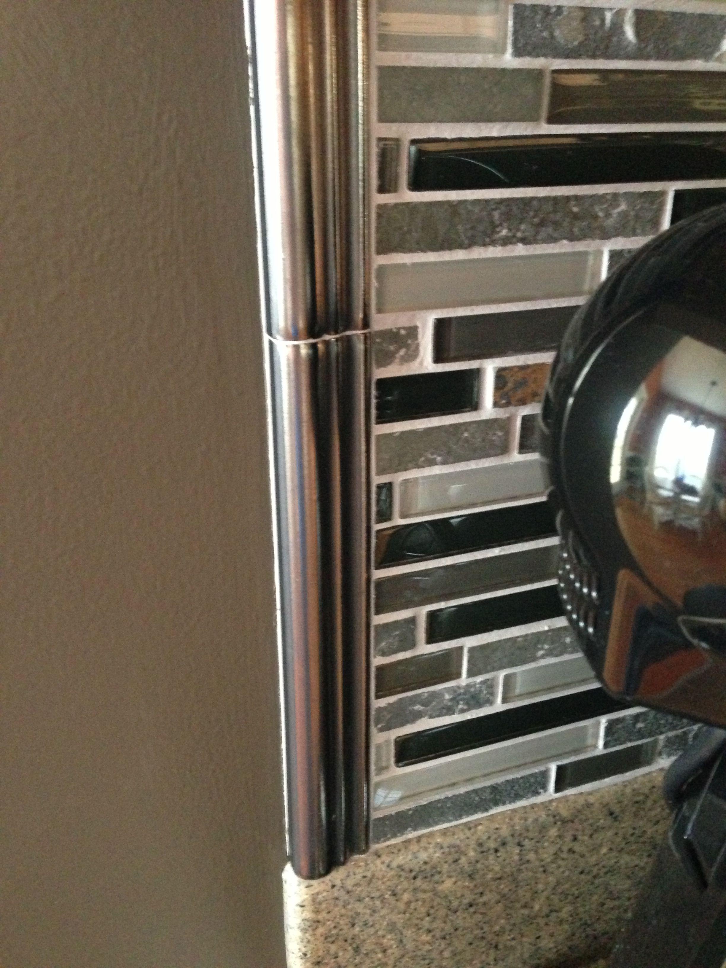 tile backsplash from lowes kitchen for the home