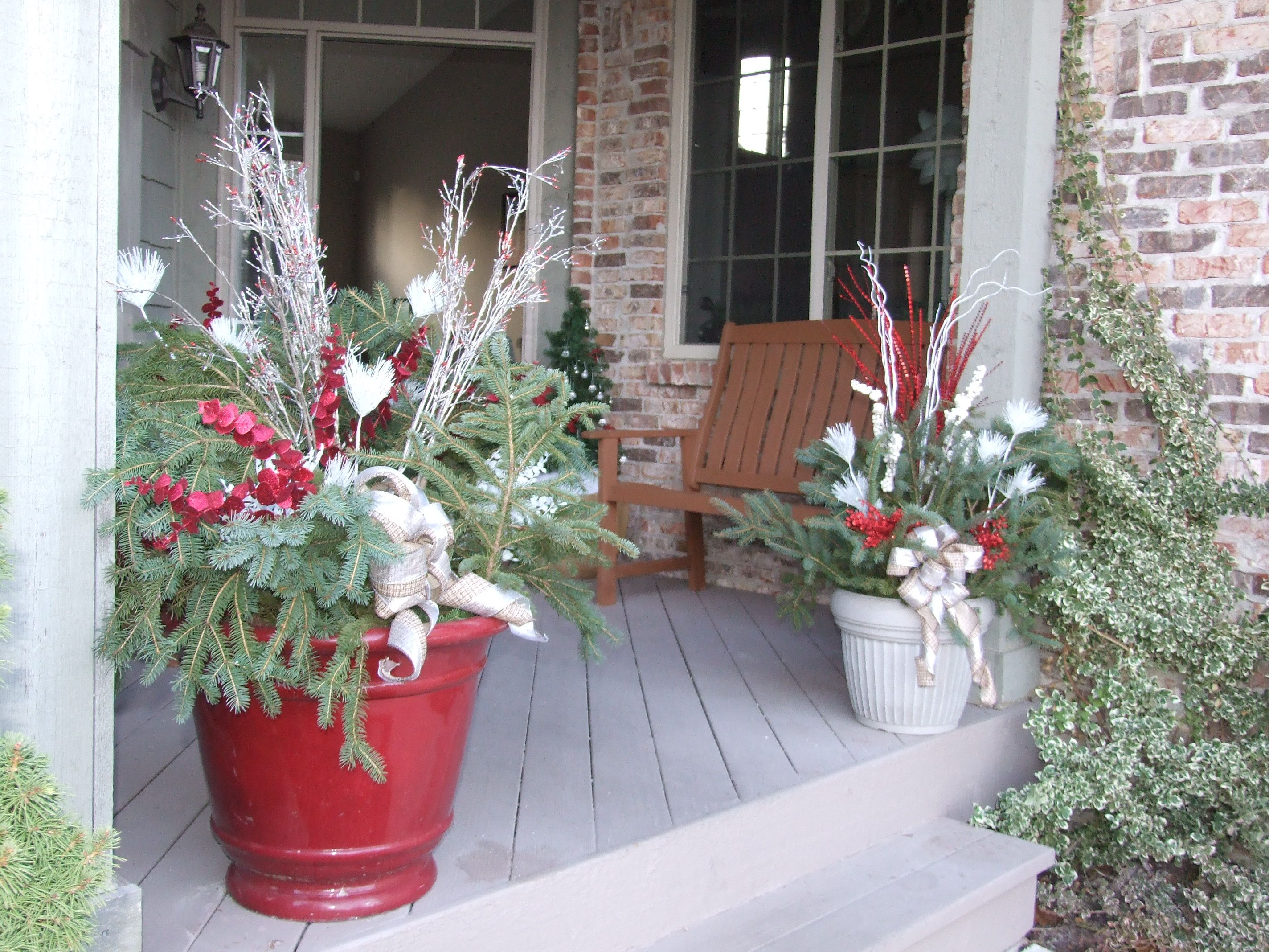 Outdoor Christmas Decorations Christmas Pinterest