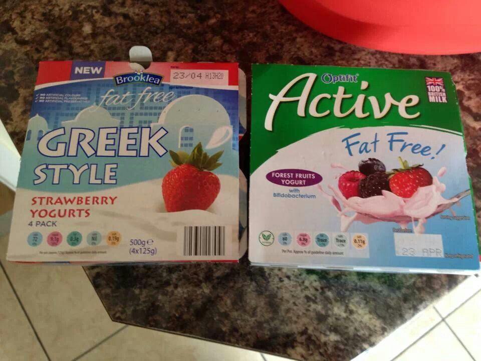 Syn free yoghurts | slimming world | Pinterest