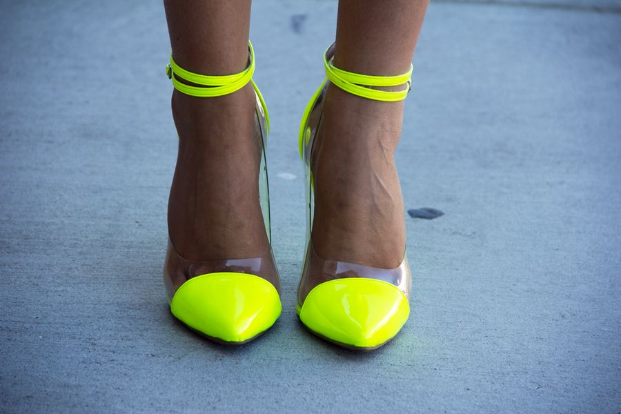 lime green heels | Shoes | Pinterest