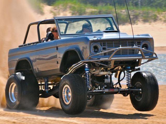 Sand drags trucks