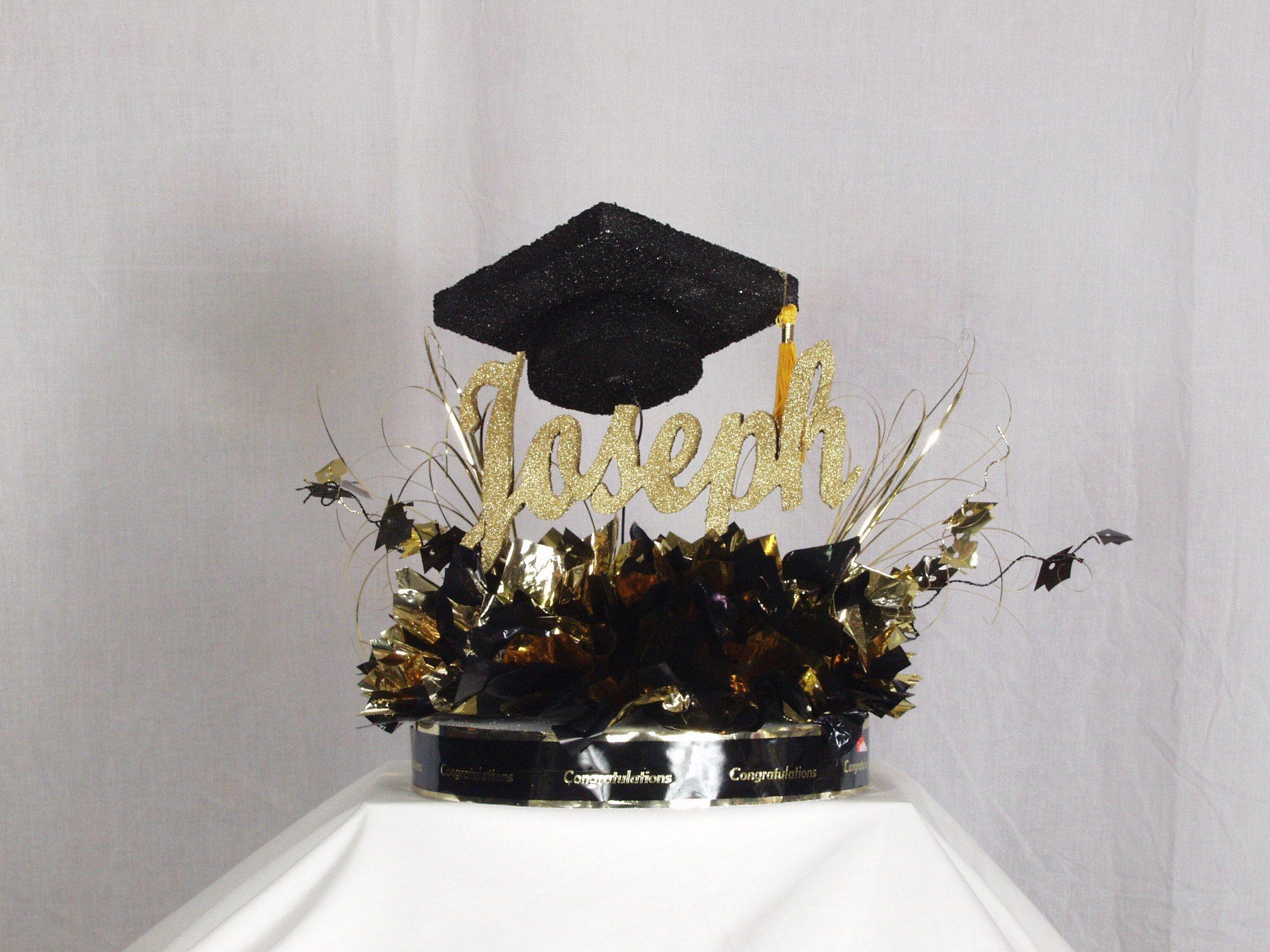 Graduation centerpiece grad party ideas pinterest