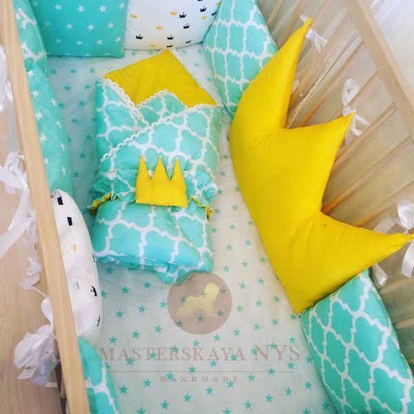 Сшить бортики своими руками в кроватку для новорожденных