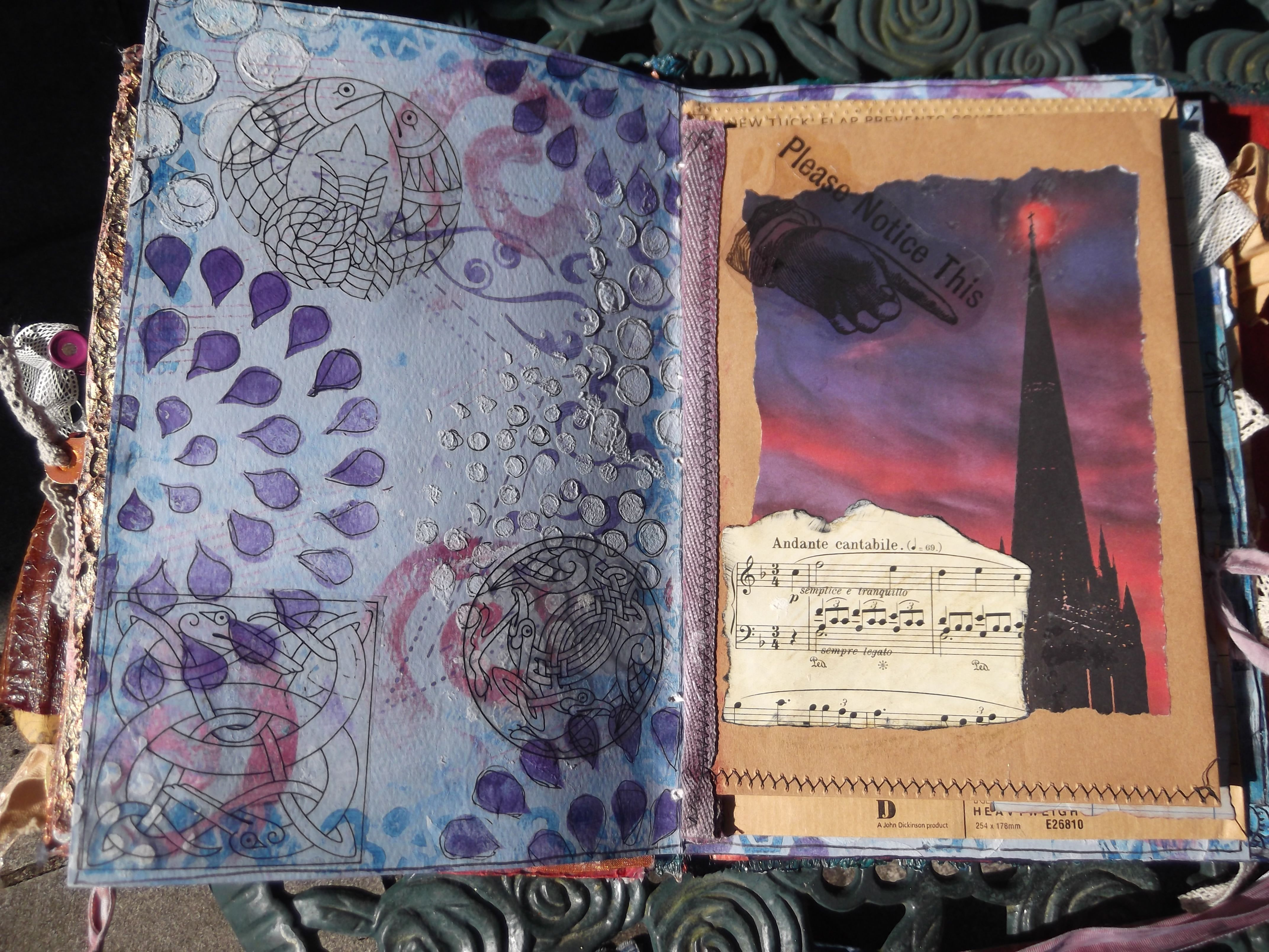 more pages | art journ...