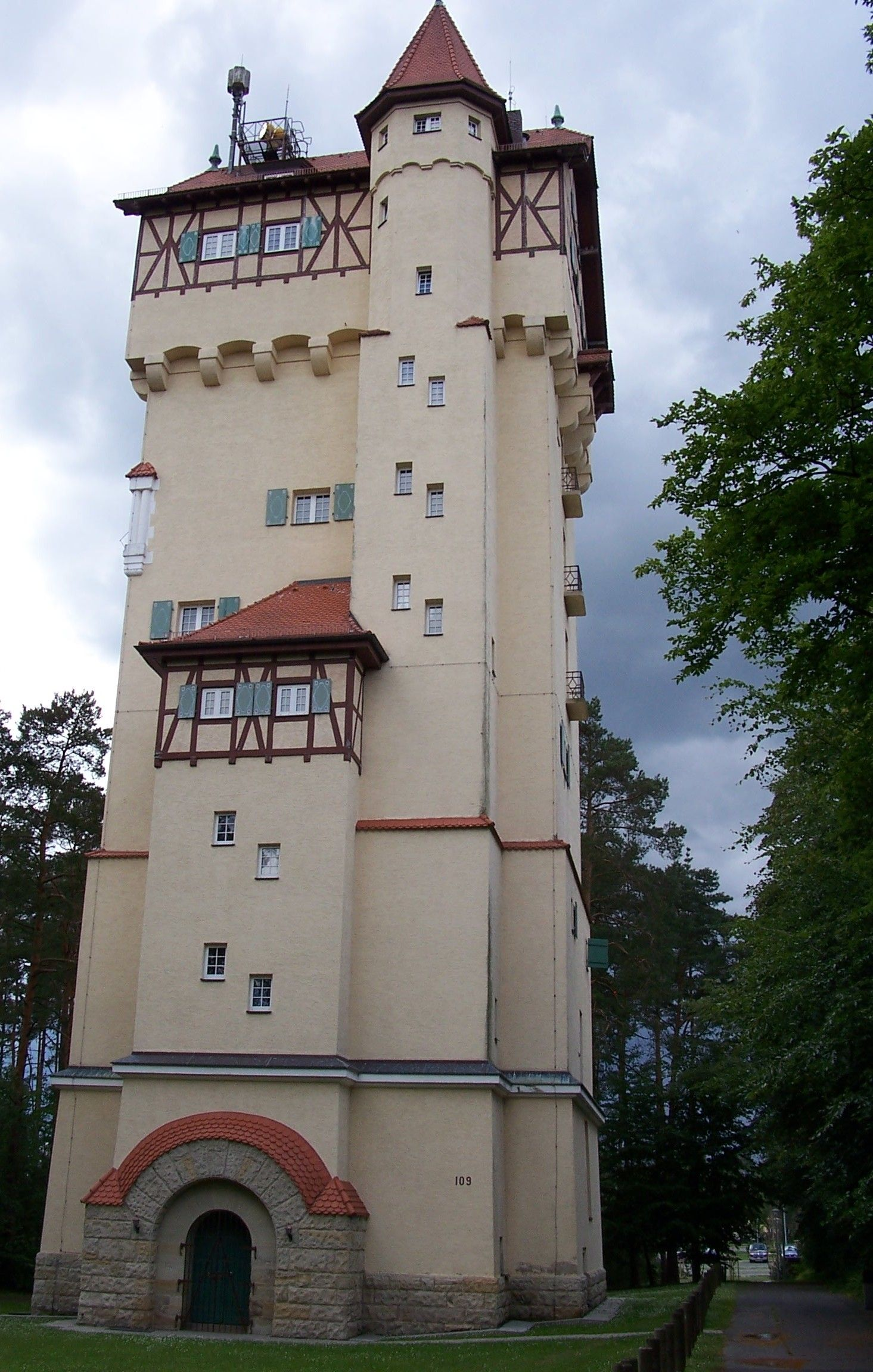 Grafenwoehr Water Tower House Germany Favorite Places