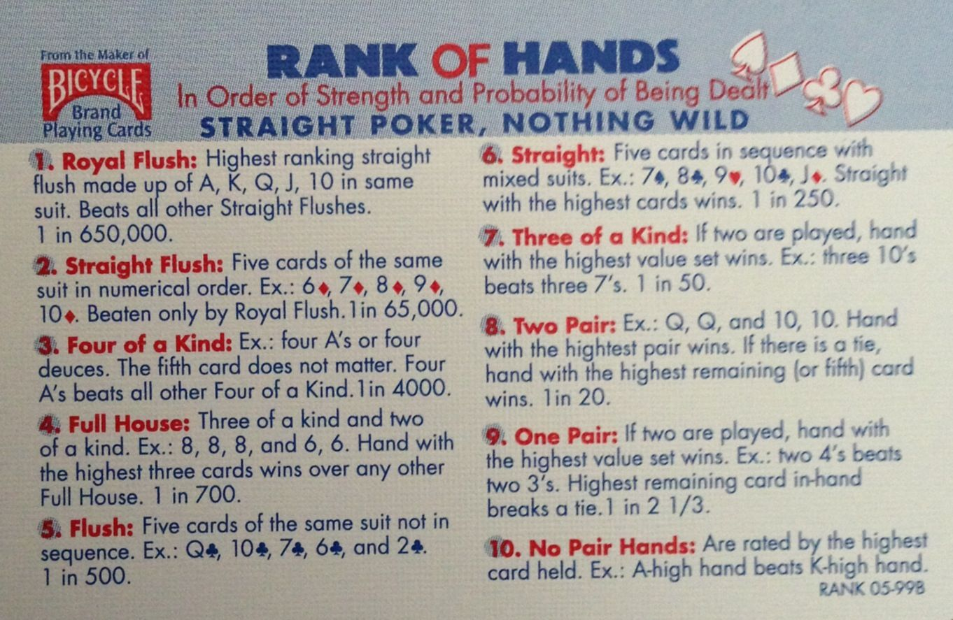 3 card drop poker rules texas