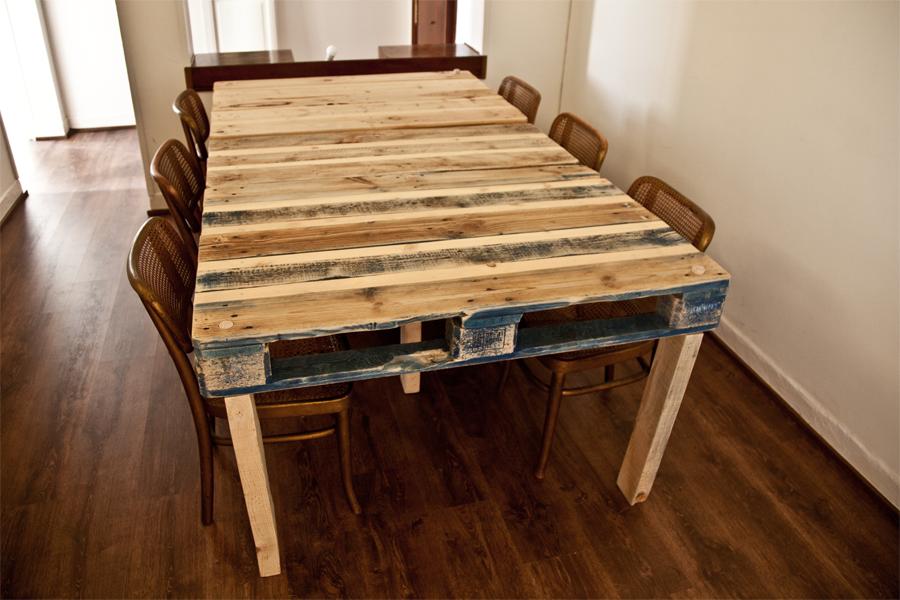 pallet table office pinterest