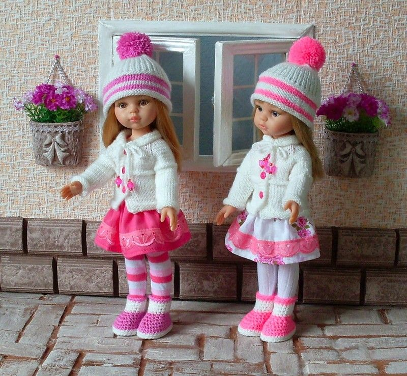 Шьем и вяжем кукол своими руками 224