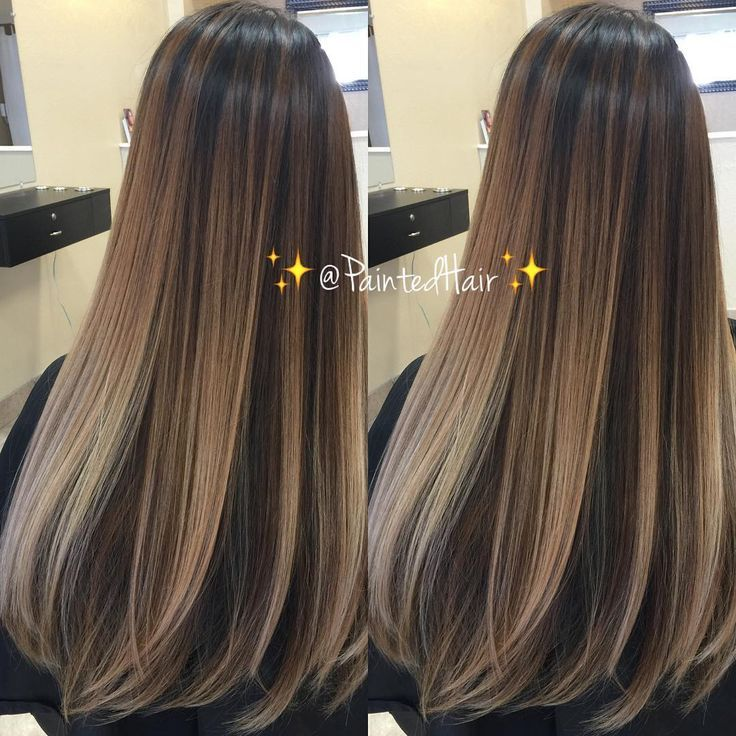 Brown Hair With Caramel Highlights Straight Daily Health