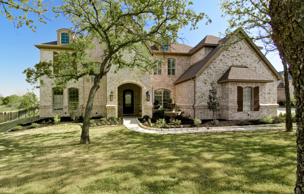 Traditional brick home texas my dream home pinterest for Brick traditional homes