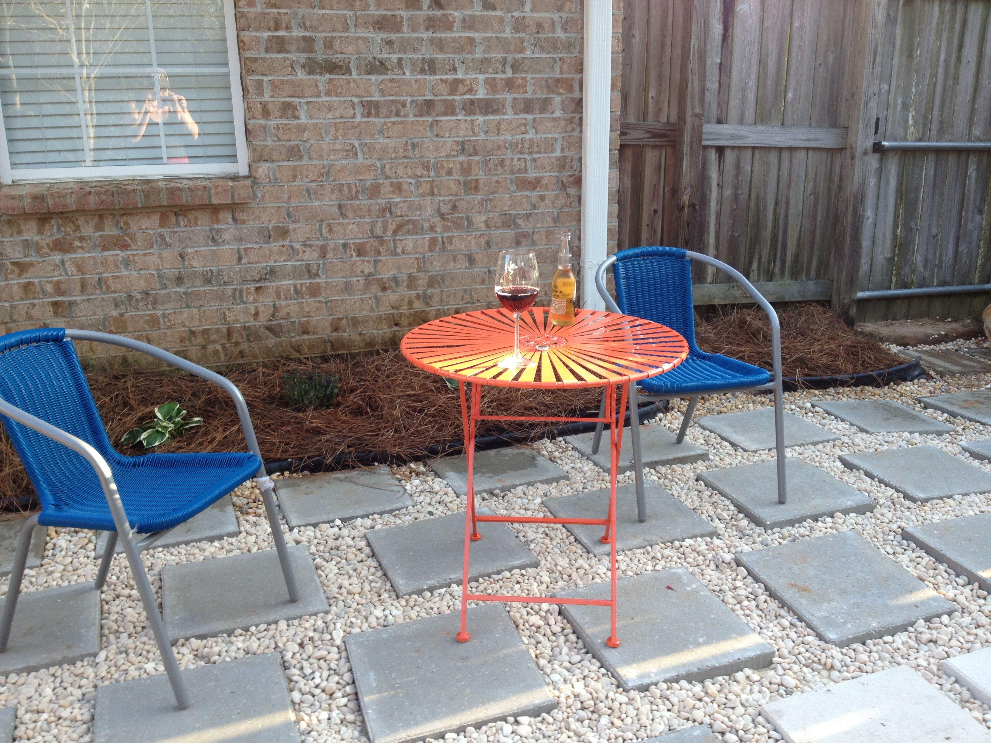 easy fix paver patio home