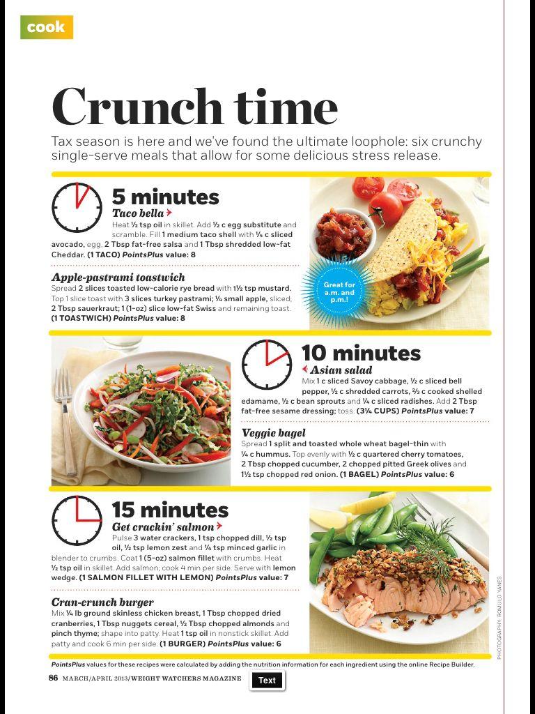 Weight watchers meal ideas on pinterest party - Cuisine weight watchers ...