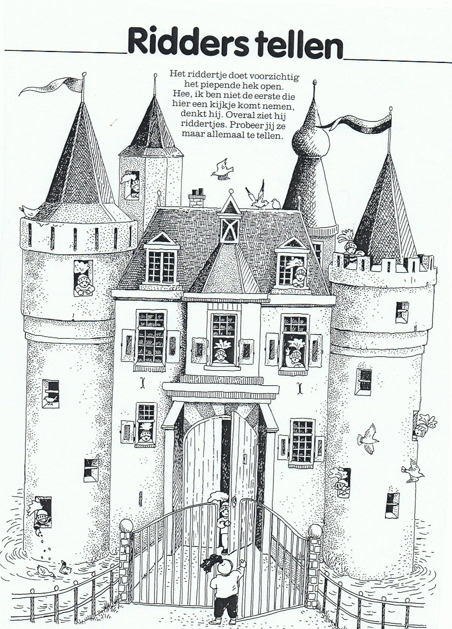 Groep 1 2 hieronymusschool groep1en2hiero for Werkbladen ridders en kastelen