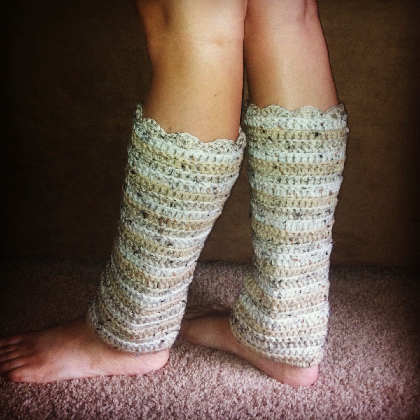 Crocheting Leg Warmers : Crocheted leg warmers crochet Pinterest