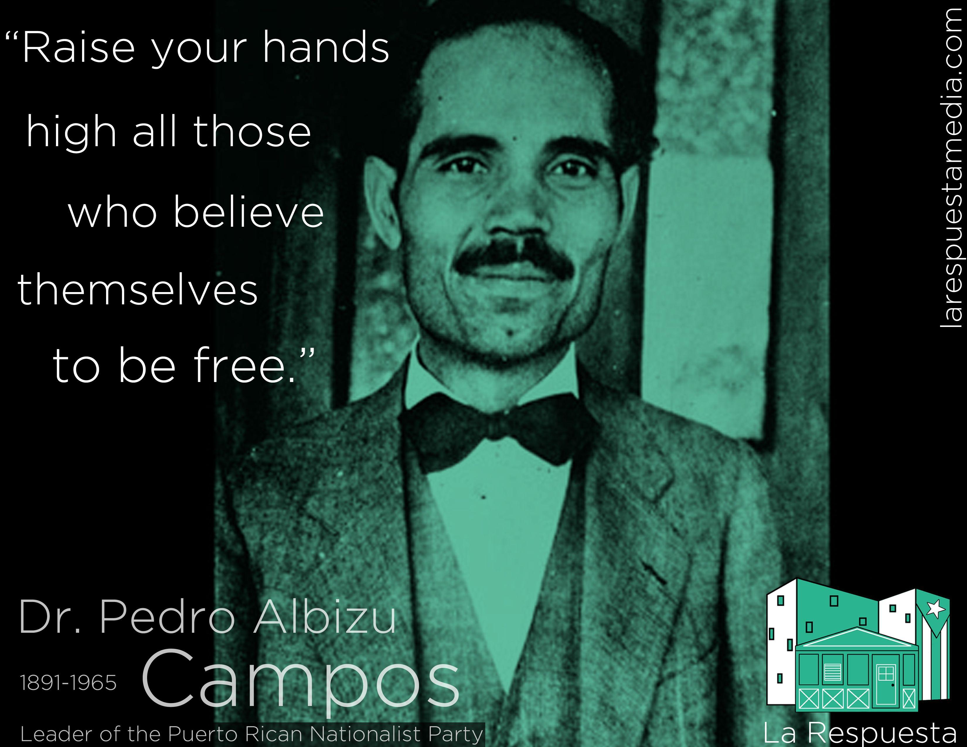 Pedro albizu campos pictures