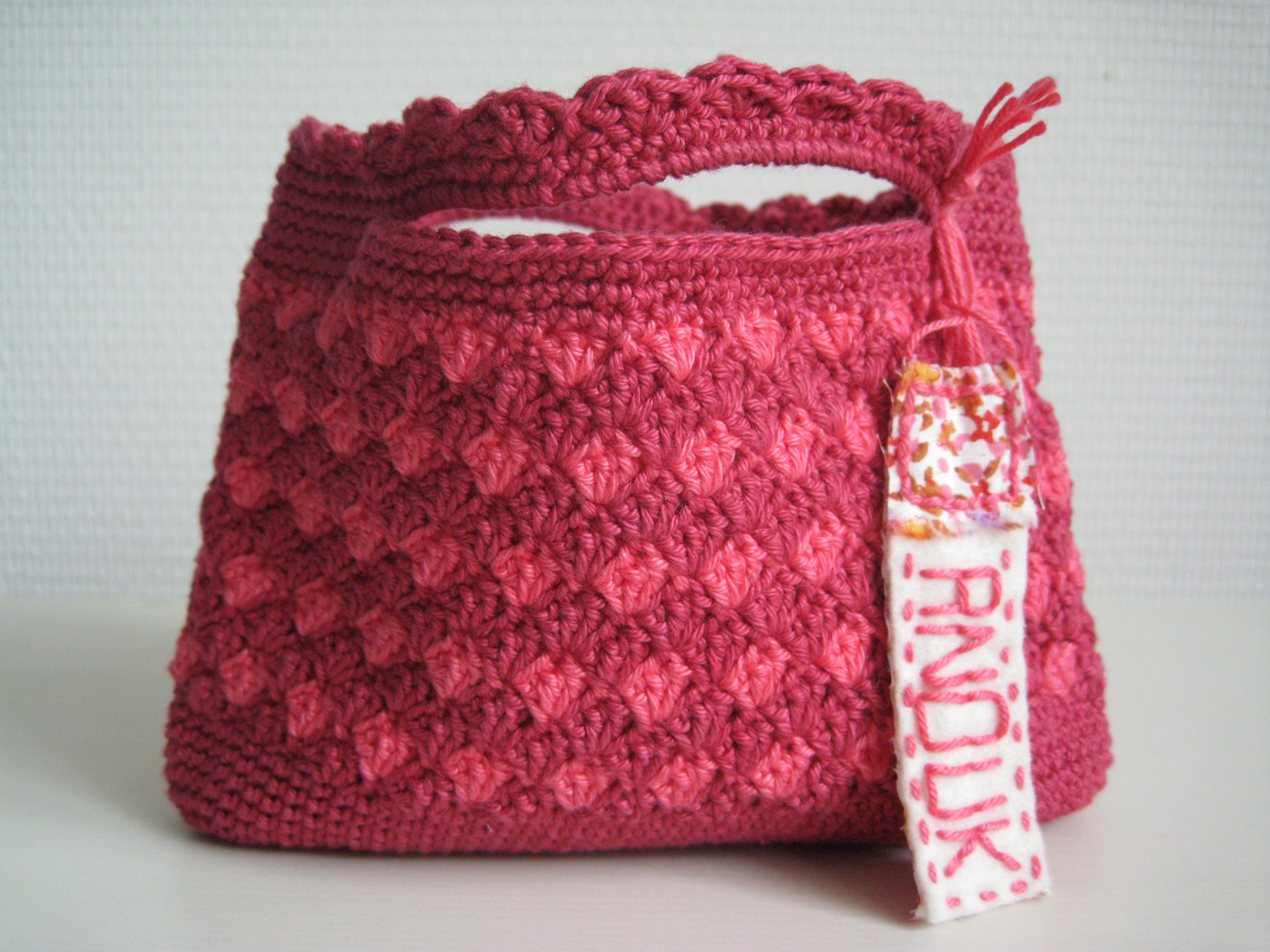 crochet bag for little girl For Emma ;-) Pinterest