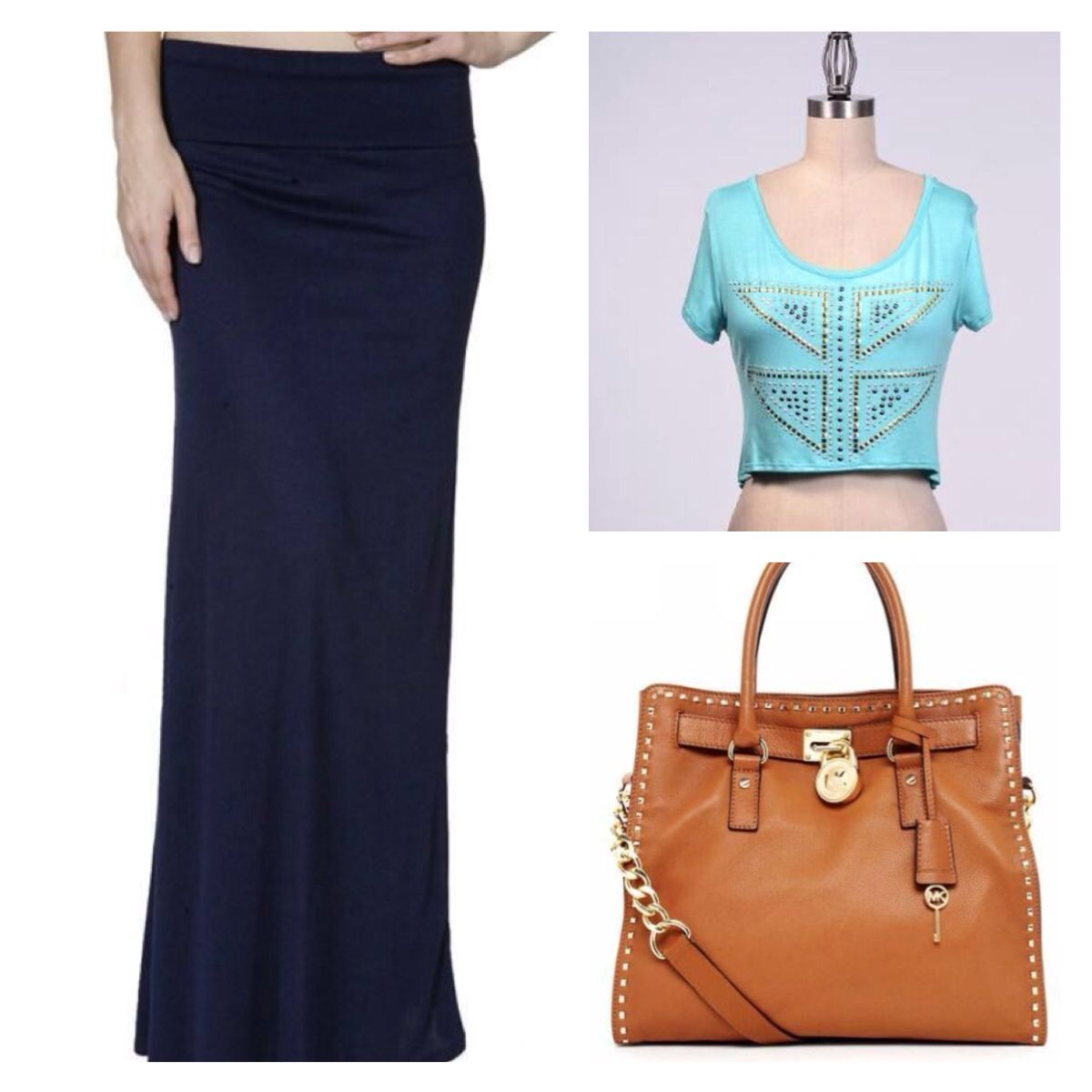 maxi skirts and crop tops fancy