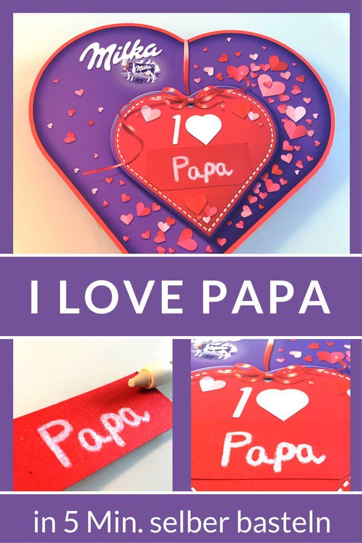 Geschenk #Geschenkidee #IloveMilka #Milka #Schokolade #Vatertag ...