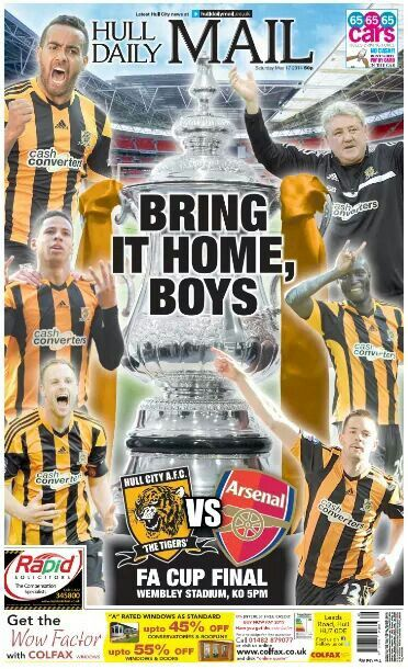 hull city fa cup final kick off time