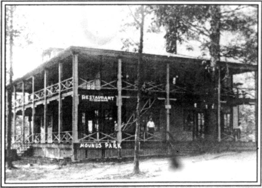 Mounds Park Original Lodge Anderson Indiana Pinterest