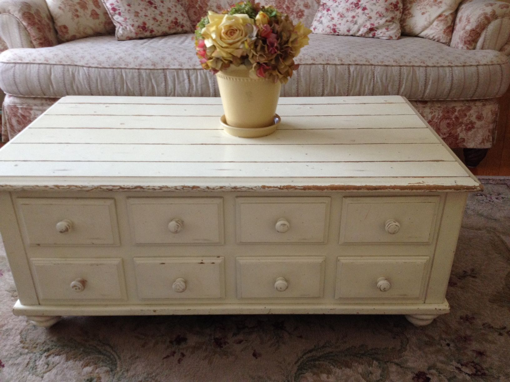 Tag Sale Find Coffee Table Shabby Chic Cottage Pinterest