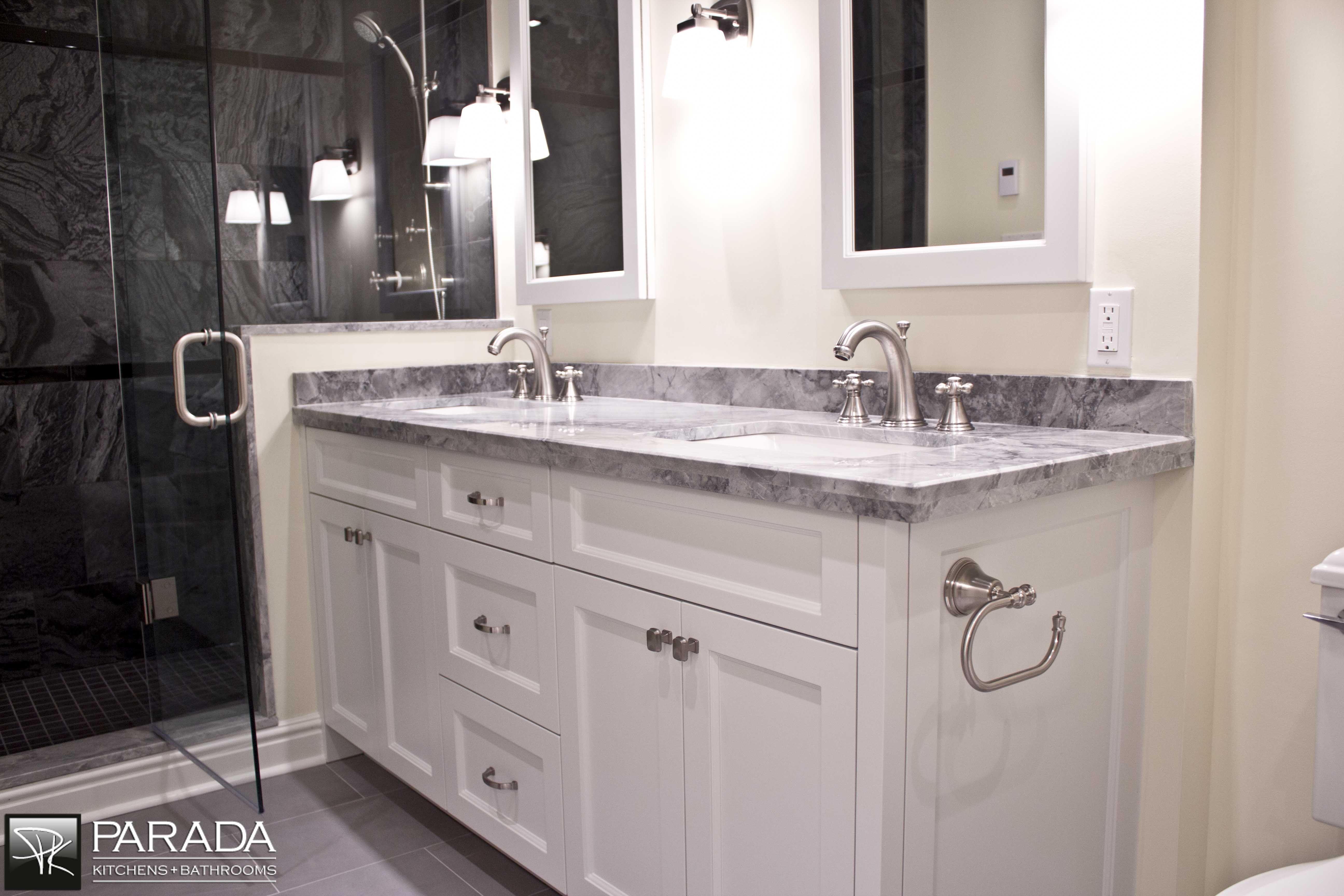 Custom Vanity Bathroom Design Ideas Pinterest
