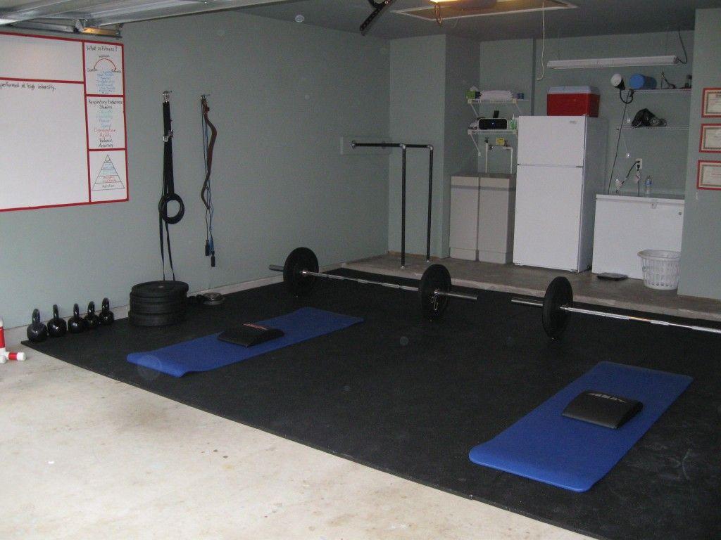 Garage gym bit tidier than mine pinterest