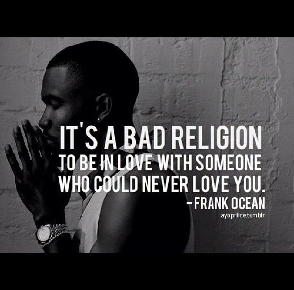 Love Frank Ocean Quotes. QuotesGram Quotes And Sayings About Love And Life For Facebook
