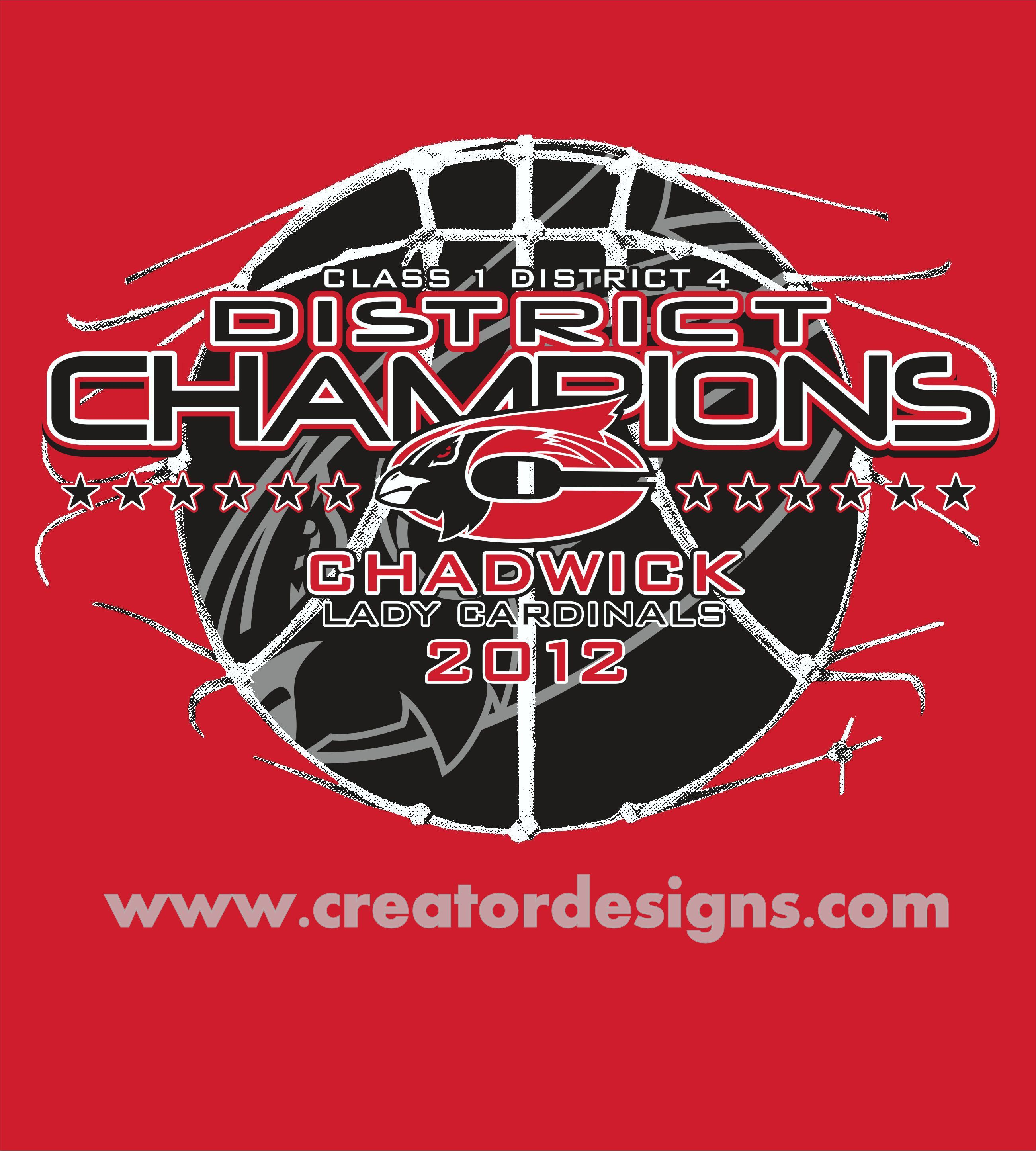 Sports 32 Chadwick District Champs Sports Designs