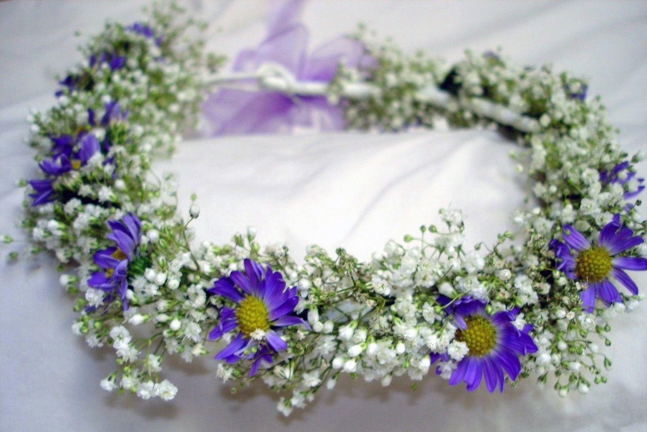 Flower Girl Halo Wedding Parties Pinterest