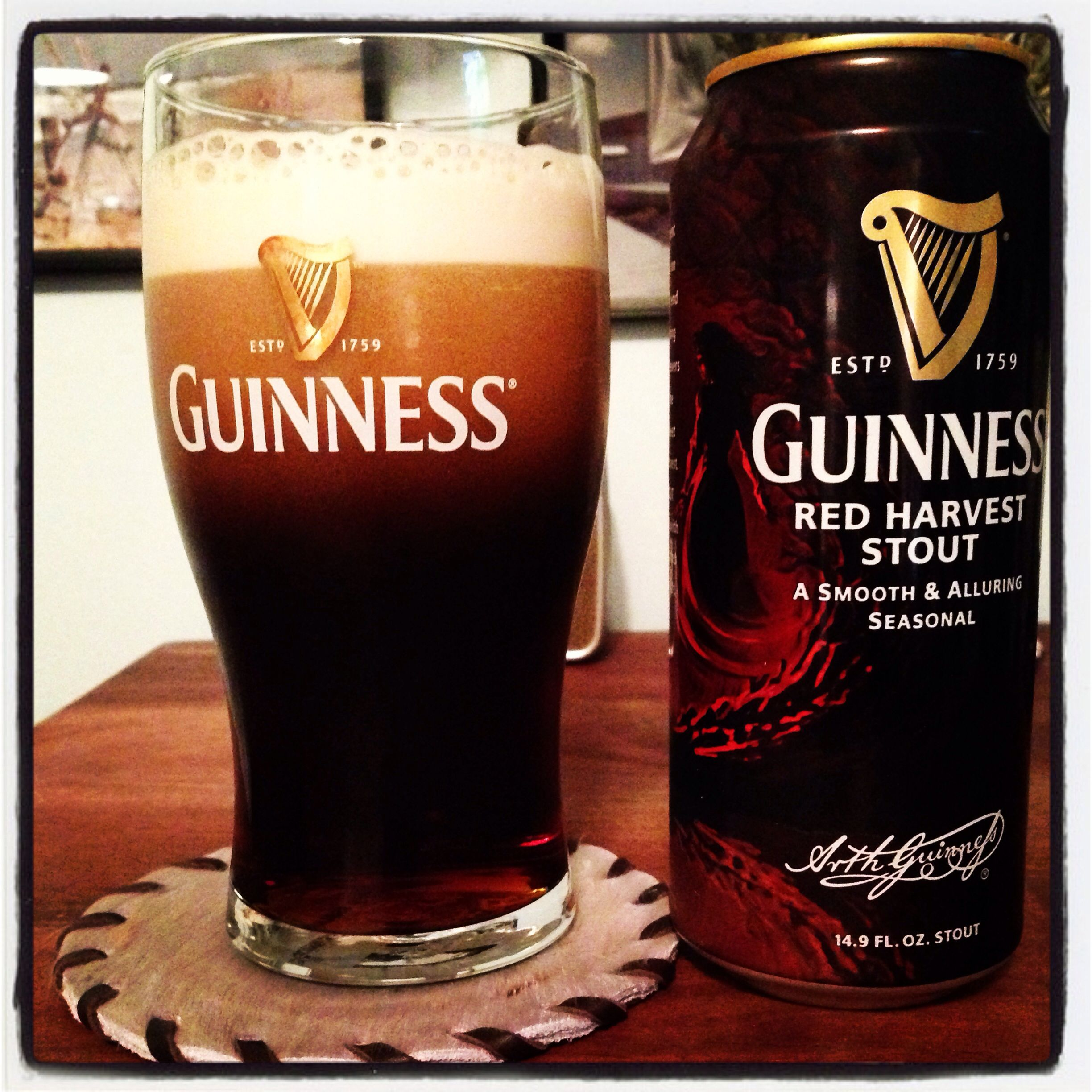 Guinness Red Harvest Stout Beer | it's a guy thing. | Pinterest