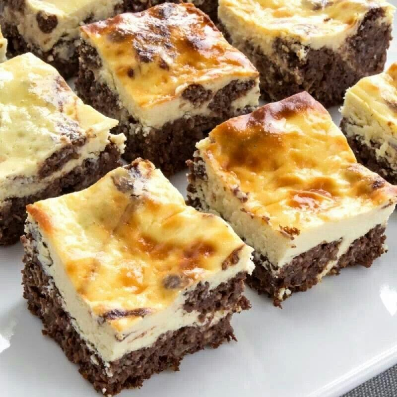 Brownie Cheesecake Bars   Favorite Recipes   Pinterest