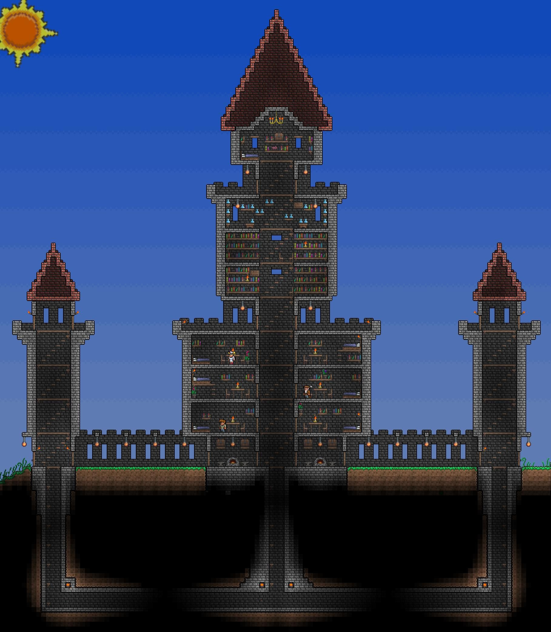 Terraria Castle Design Related Keywords Suggestions