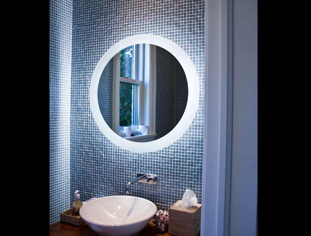 bath mirror  Decor ideas  Pinterest
