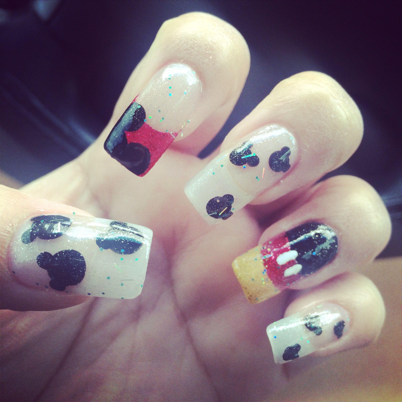 The Enchanting Mickey mouse nail art Photo