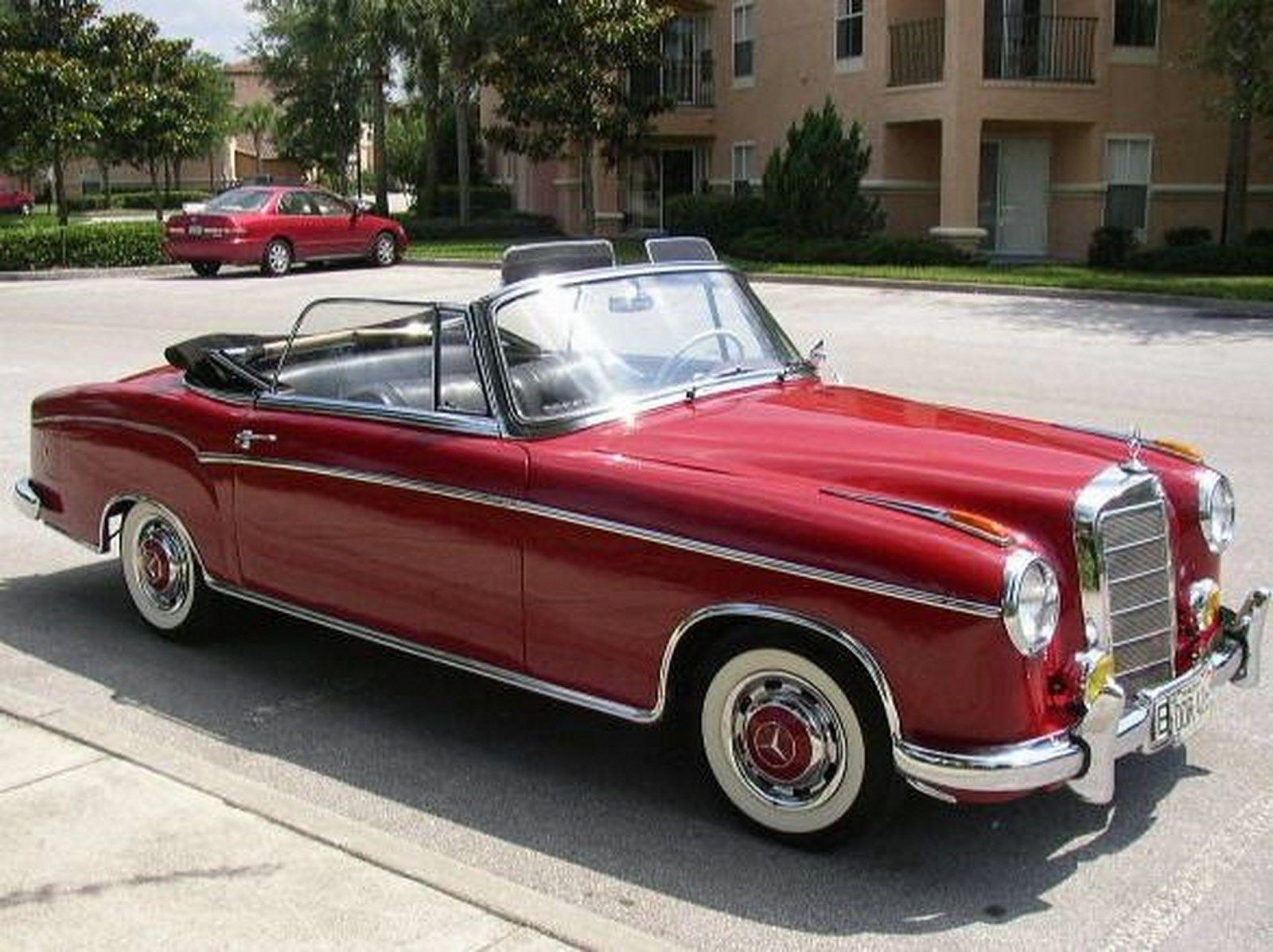 1957 mercedes benz 220s cabriolet mercedes pinterest for Mercedes benz 220s