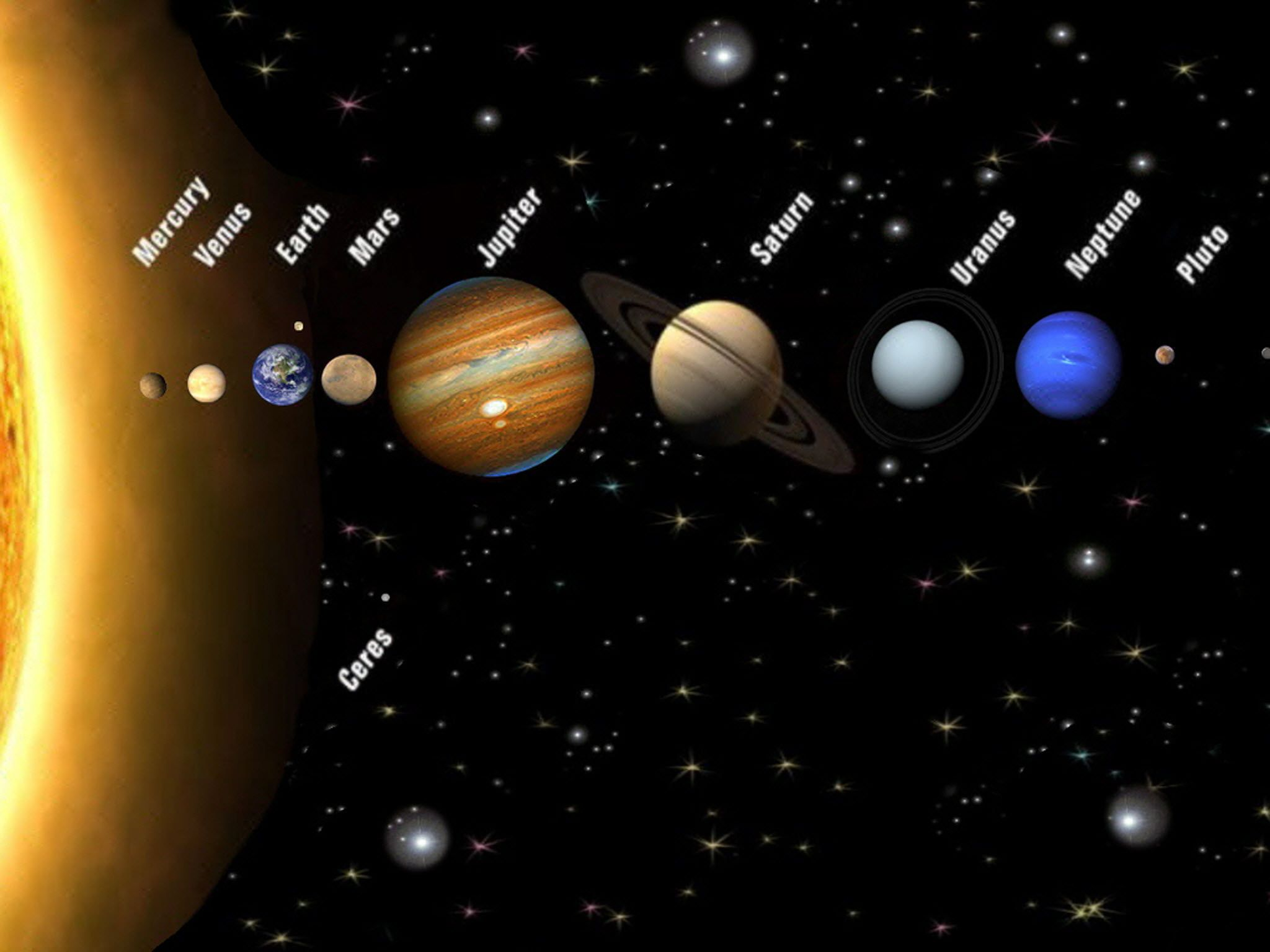 Solar System! A Kids Book About the Solar System - Fun Pictures of our solar system in order