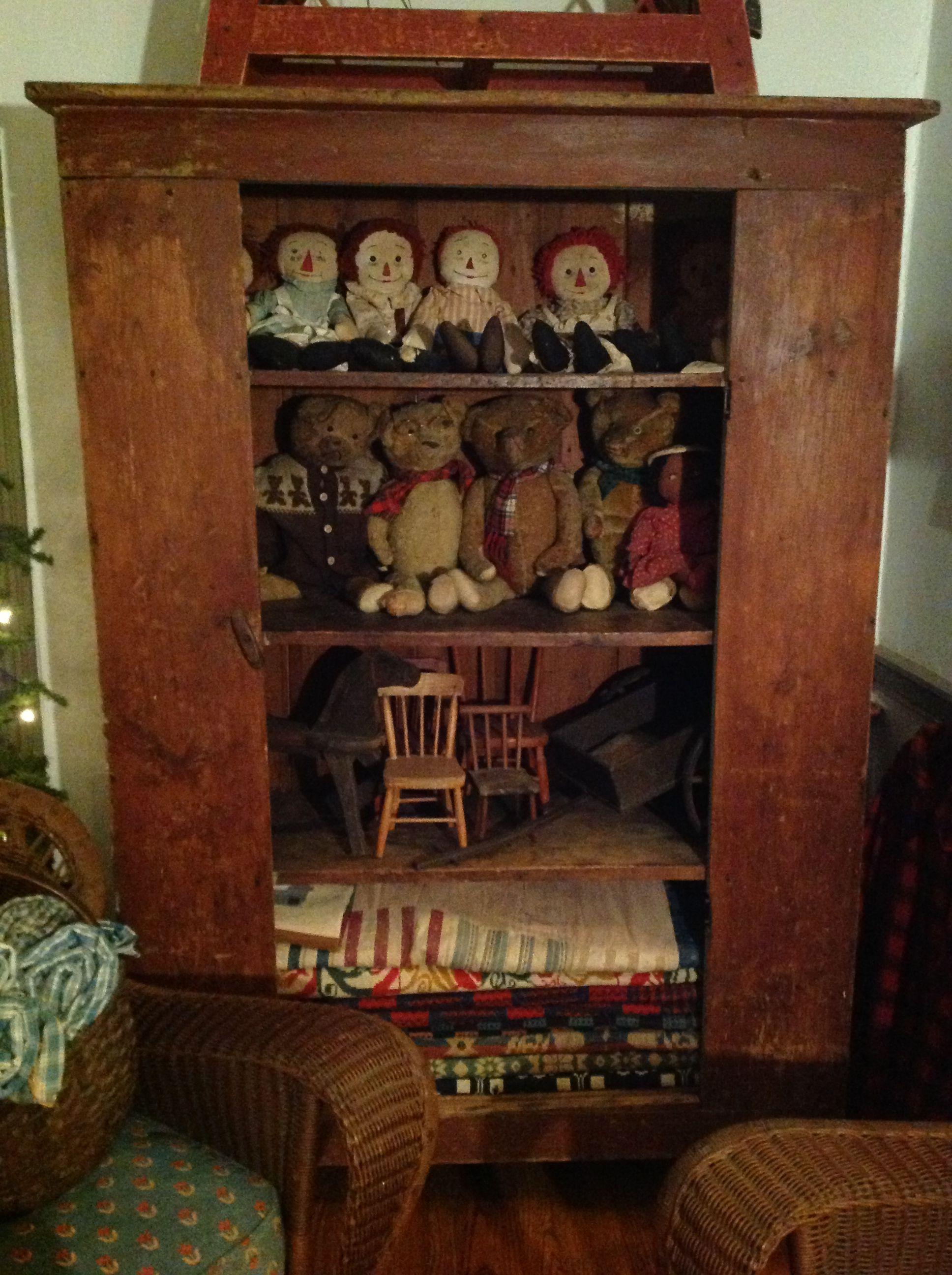 Old Toys Primitive Decor Pinterest