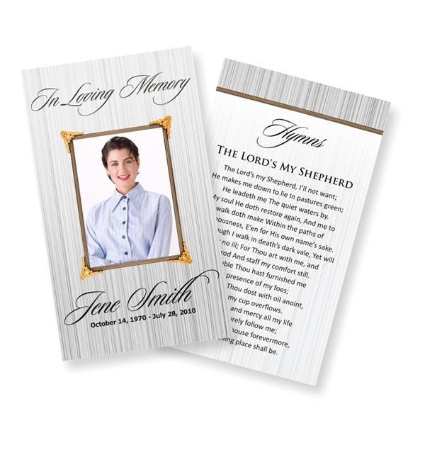 memorial card template - solarfm.tk