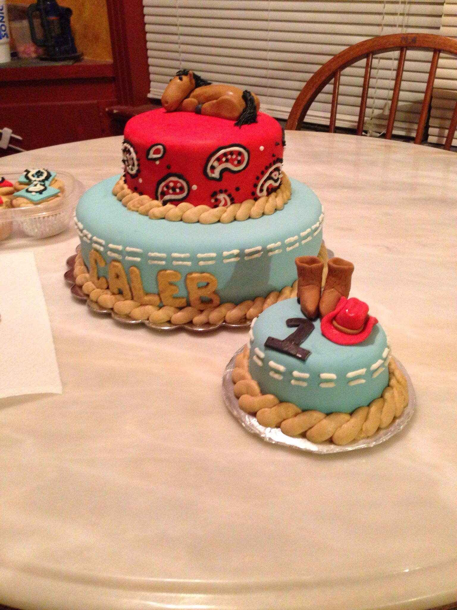 cowboy cake for kids