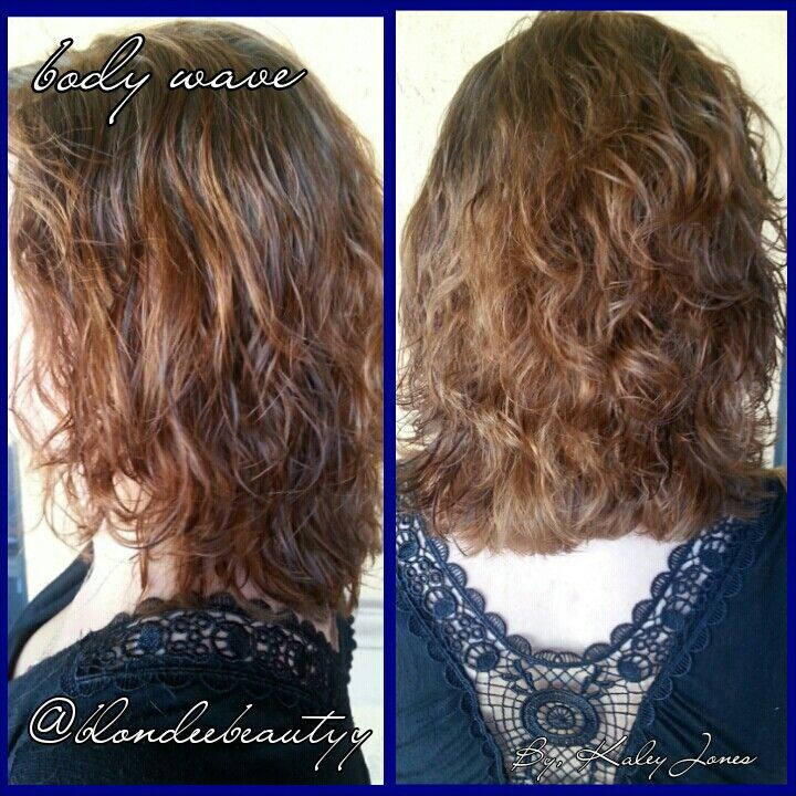 Body wave perm hair styles i love pinterest