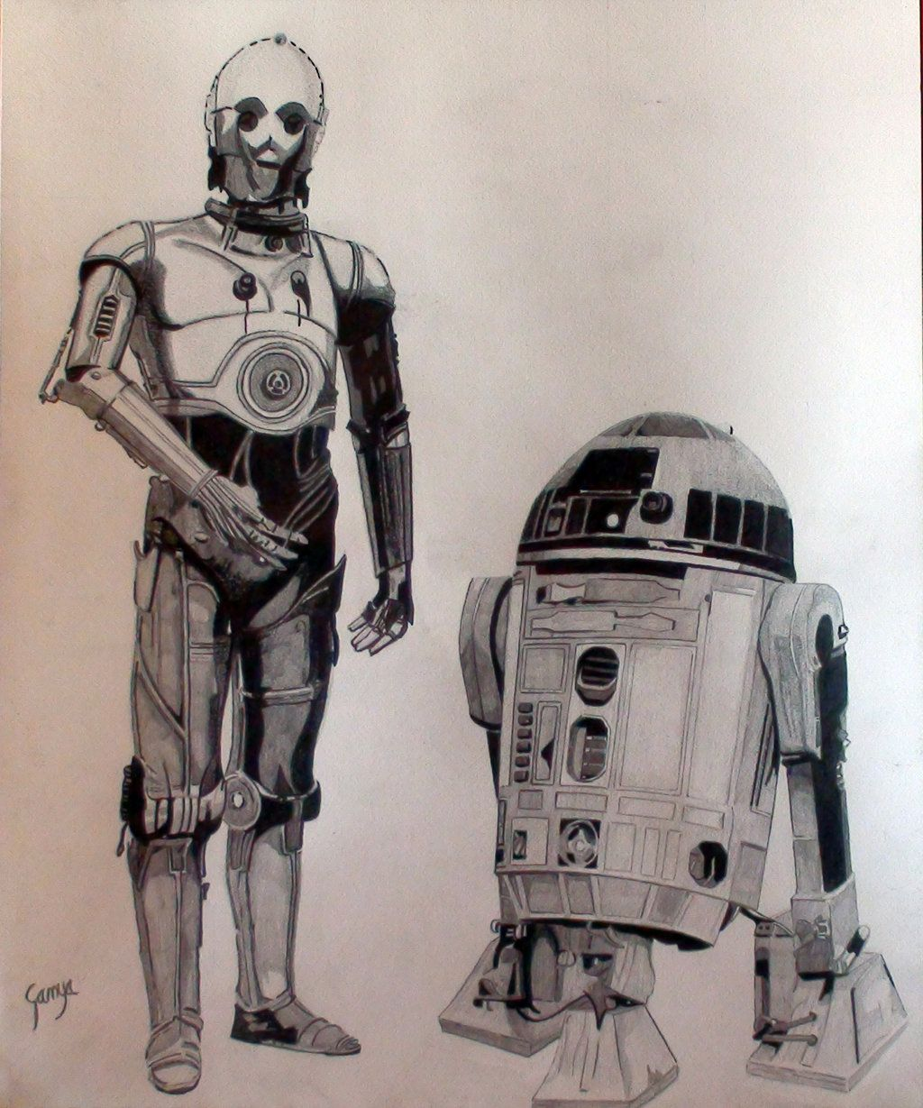 R2d2 And C3po C3PO and R2D2 | A Gala...