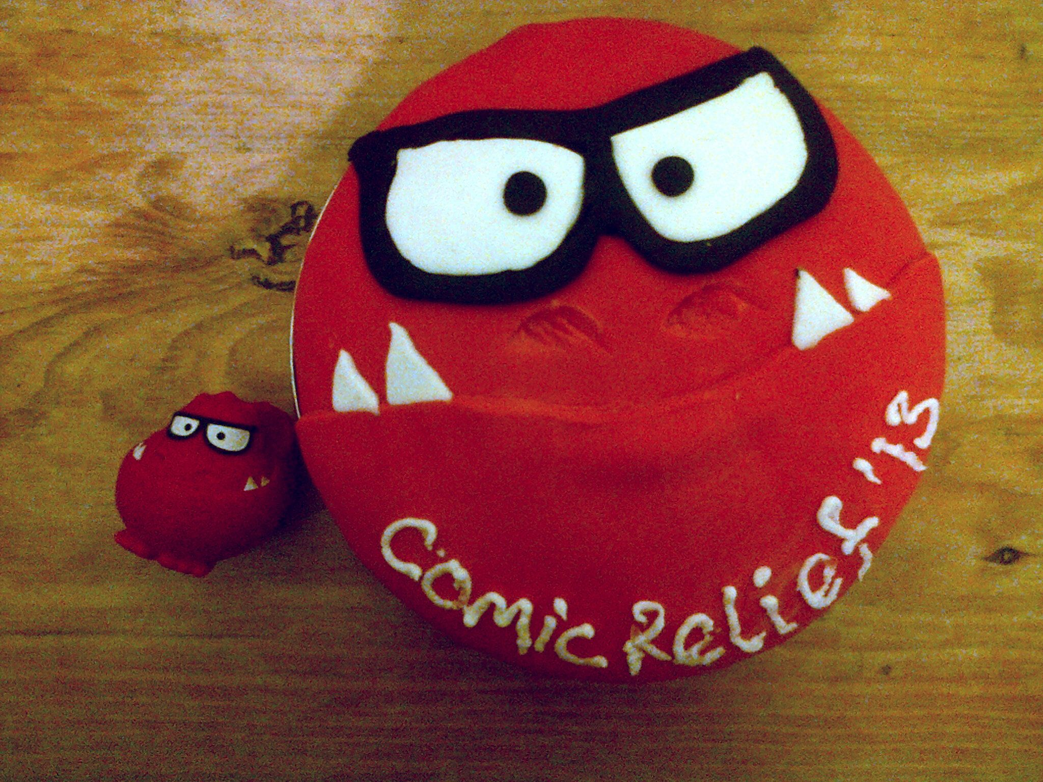 Red Nose Cake Images : Red nose day cake designs