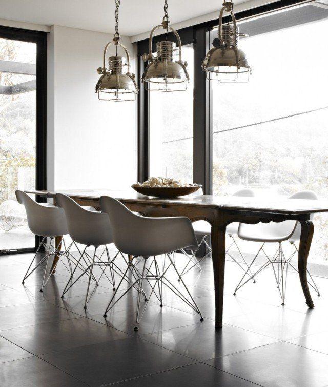 Lustre Salle Manger Design. Salle Manger Ides De Design Russi With ...