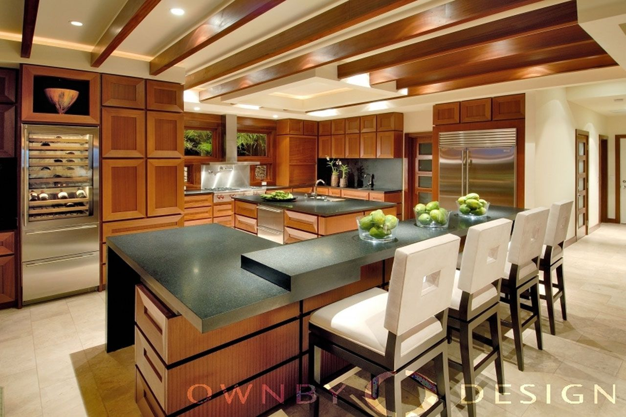 Split level kitchen counter bar for the home pinterest - Cool kitchen designs for split level homes ...