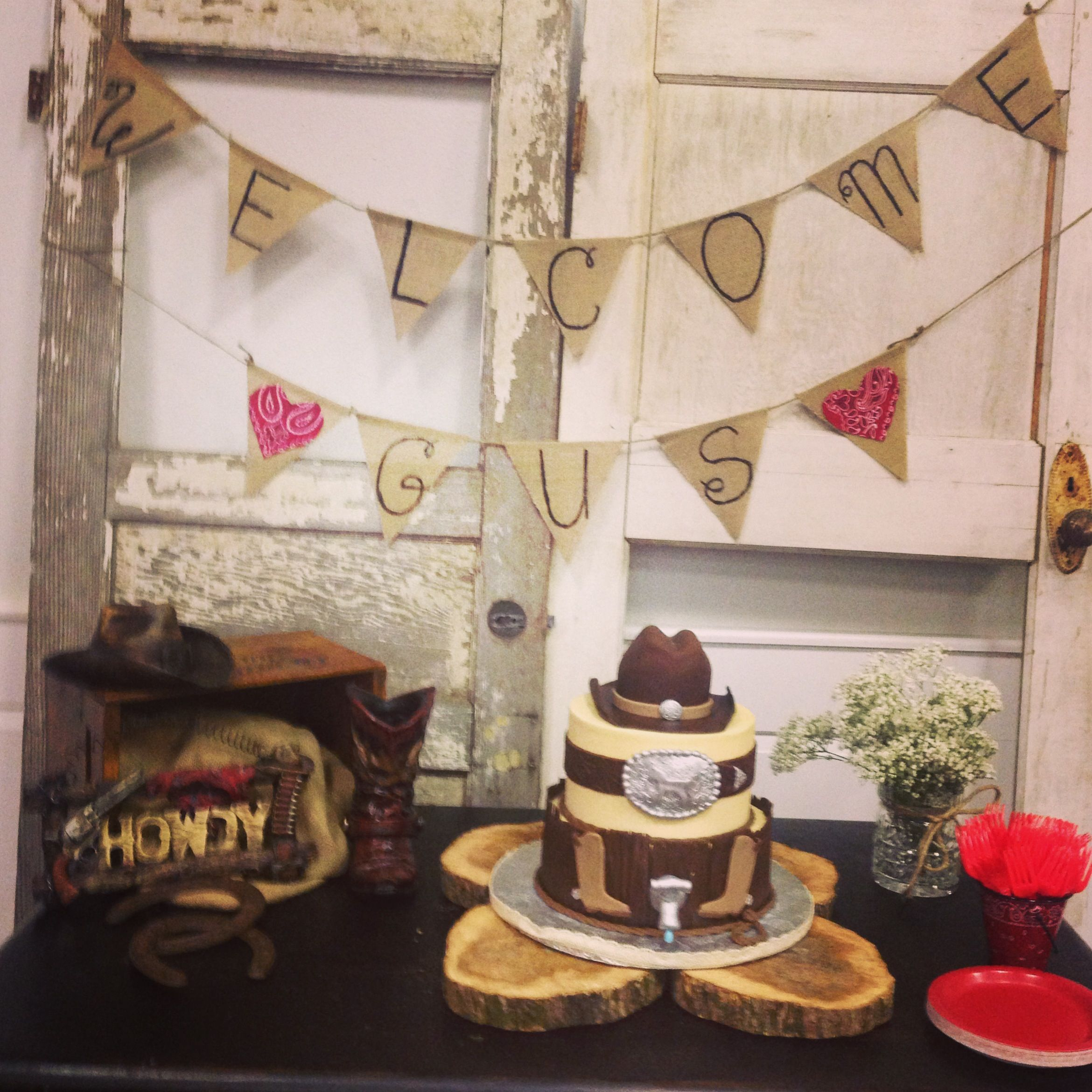 Baby Shower Cowboy Theme: Western Themed Baby Shower!
